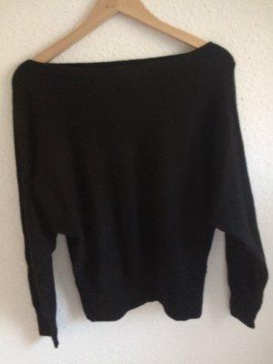 H&M Maglione di lana nero