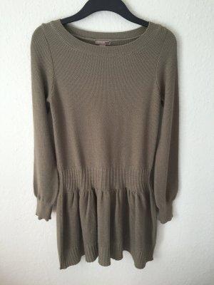 H&M Pullover Kleid mit Schößchen Volant