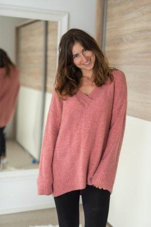 H&M Pullover Longpulli oversized 38 pink