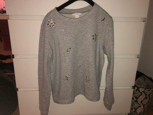 H&M Pullover mit Steinchen