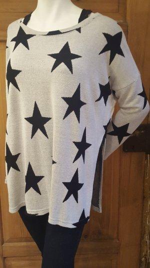 H&M Pullover mit Sternen Gr.M