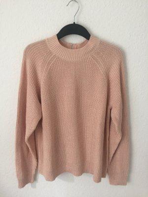 H&M Pullover mit Turtleneck Rosa