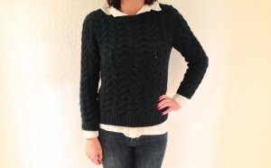 H&M Pullover mit Zopfmuster