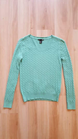 H&M Pullover mit Zopfmuster XS 34