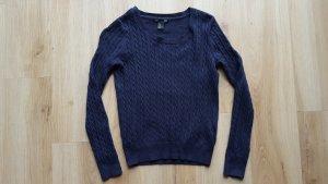 H&M Pullover mit Zopfmuster XS 34 *** NEU ***