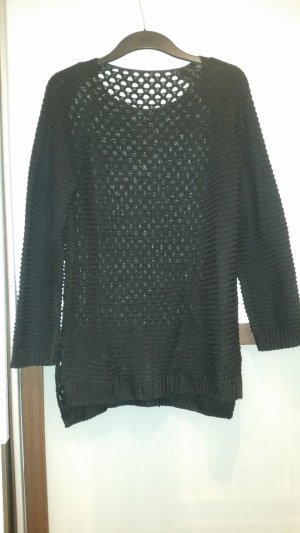 H&M Long Sweater black