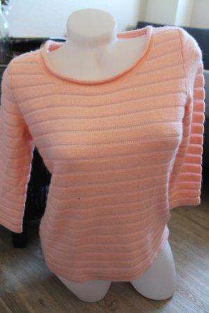 H&m Pullover nude rose rosa Gr.S 36 Neu mit Etikett 3/4 Arm top Oberteil