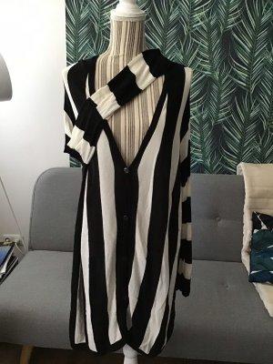H&M Maglione oversize nero-bianco