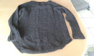 H&M  Pullover, Pulli antrazit (schwarz-grau) GR. EUR S
