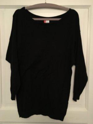 H&M Pullover schwarz Gr. S