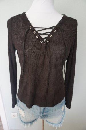 H&M Pullover schwarz in Gr. M