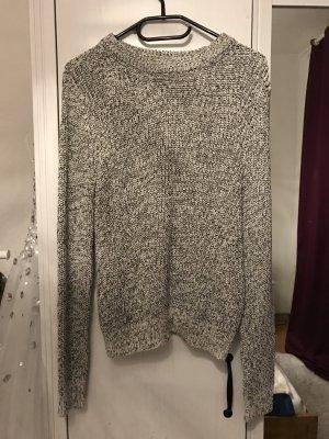H&M Pullover schwarz weiß