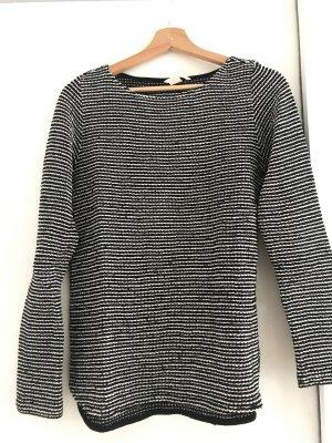 H&M Pullover schwarz-weiß