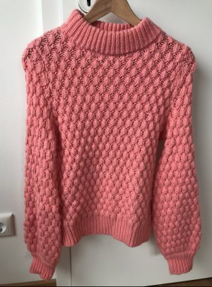 H&M Coarse Knitted Sweater pink
