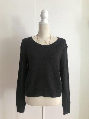 H&M Pullover Strickpullover in Schwarz Größe S NEU