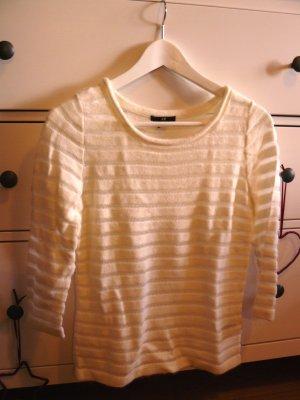 H&M Pullover weiß kuschelig Angora