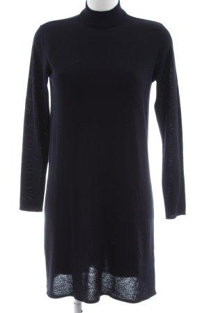 H&M Abito maglione blu stile casual