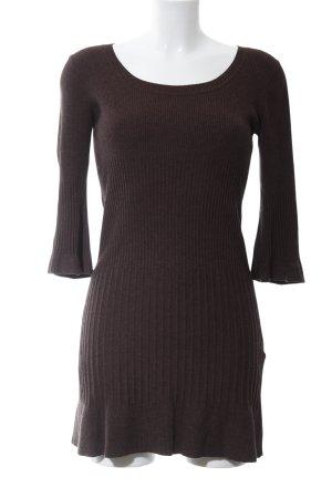H&M Abito maglione marrone stile casual