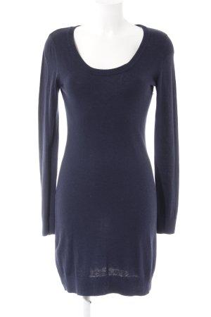 H&M Sweater Dress dark blue casual look