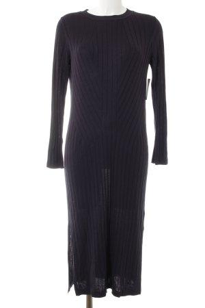 H&M Sweaterjurk donkerblauw casual uitstraling