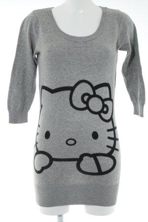 H&M Robe pull gris style décontracté