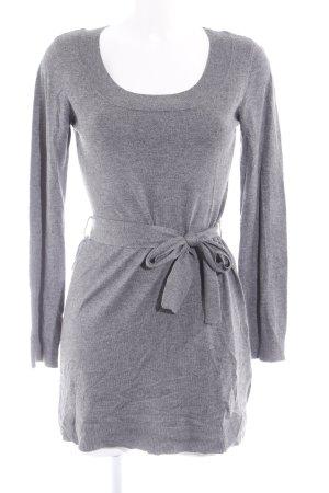 H&M Pulloverkleid grau meliert Casual-Look