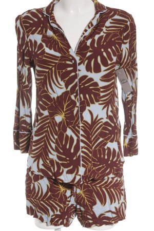 H&M Pyjama abstraktes Muster extravaganter Stil