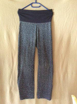 H&M Pyjamahose blau mit Animalprint Gr S