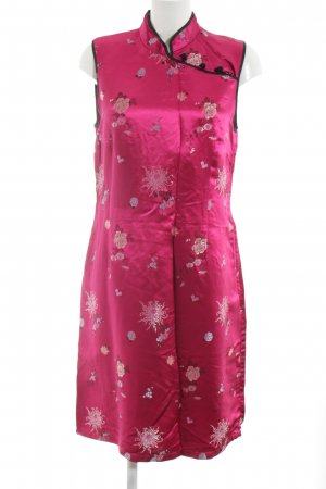 H&M Qipao pink flower pattern elegant