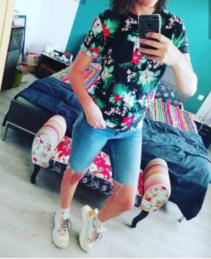 H&M Radlerhose Radlerjeans Jeans Denim Bermuda Shorts