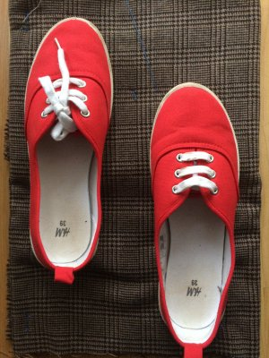 H&M Red Summer Sneakers