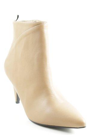 H&M Reißverschluss-Stiefeletten camel Casual-Look