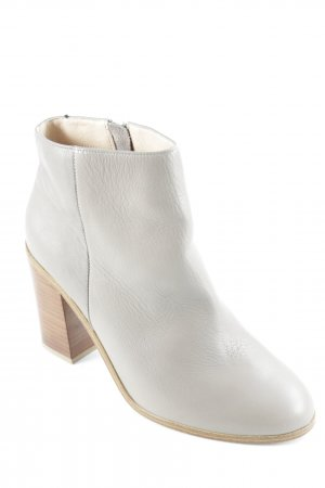 H&M Reißverschluss-Stiefeletten grau-braun klassischer Stil