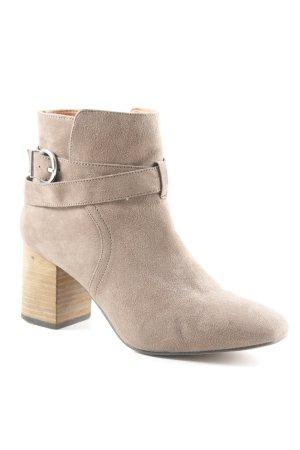 H&M Reißverschluss-Stiefeletten mehrfarbig Boho-Look