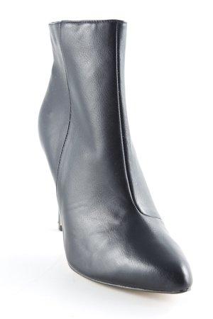H&M Reißverschluss-Stiefeletten schwarz Business-Look