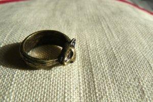 H&M Ring mit Fuchsmotiv NEU Waldtierkollektion