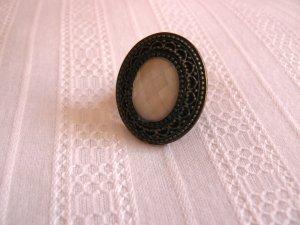 H&M Ring mit Stein Größe S