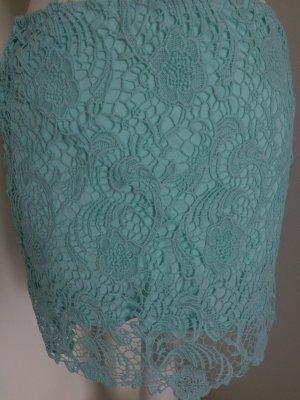 H&M Rock 36 S neu pastel grün Spitze Lace Frühling Sommer
