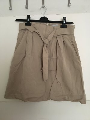 H&M Gonna a tulipano beige-color cammello Lyocell
