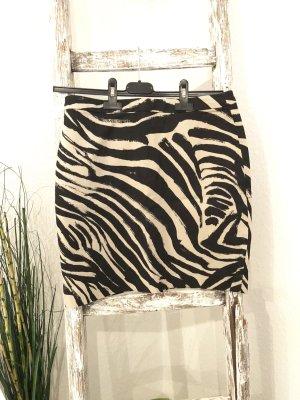 H&M Rock Gr. 36 schwarz nude Kleid Damen