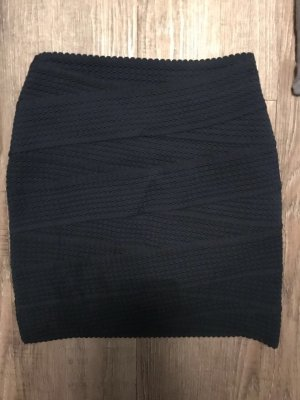 H&M Rock Minirock Bandage skirt bodyshape Gr. XS Stretch