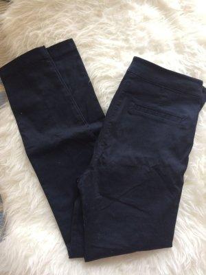 H&M Röhren Skinny Hose Leggings 38 M Neu dunkelblau Sommer