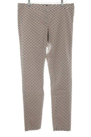 H&M Pantalone a sigaretta motivo grafico stile minimalista