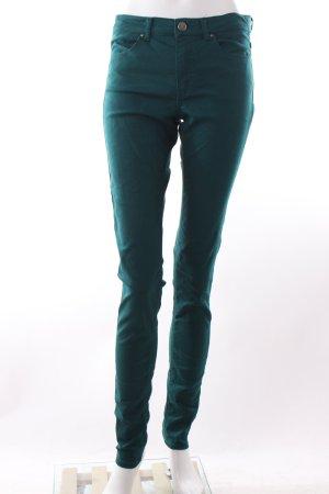 H&M Röhrenhose waldgrün