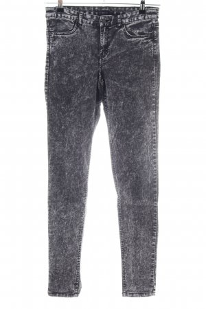 H&M Tube jeans lichtgrijs casual uitstraling