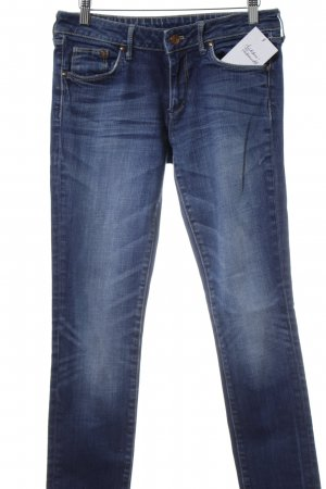 H&M Tube jeans blauw Jeans-look