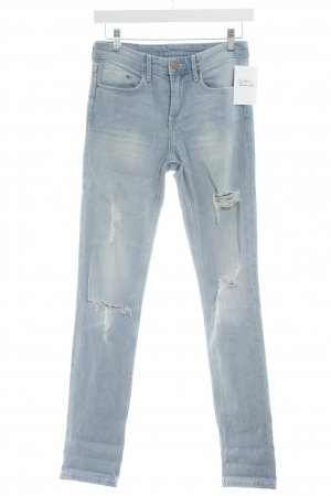 H&M Tube Jeans light blue casual look