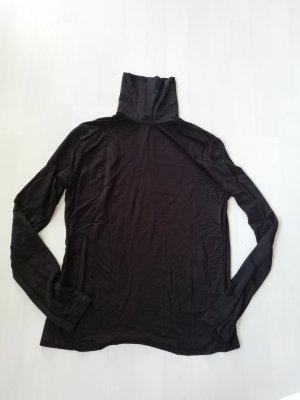 H&M Maglia a collo alto nero