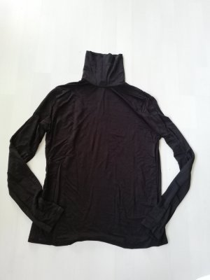 H&M Turtleneck Shirt black