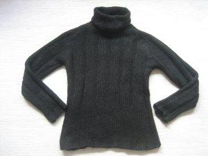 H&M rollkragenpuli schwarz top gr. s 36